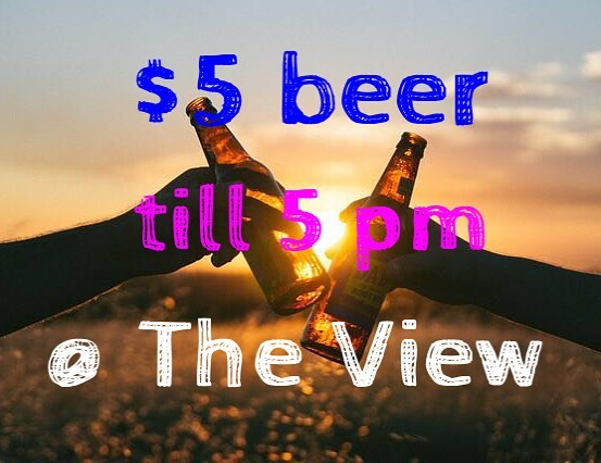 Happy hour at #theviewpizza till 5 today #hardysbay