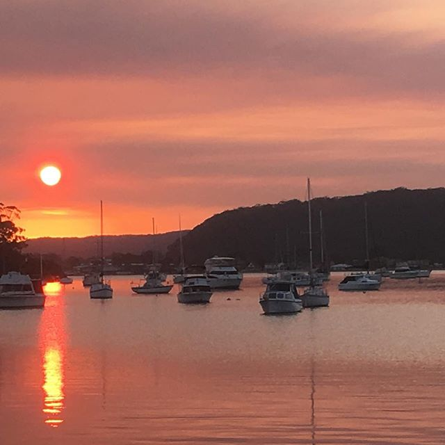 Hardy's bay no filter #centralcoastnsw #landscape_lovers #sunset #theviewpizza