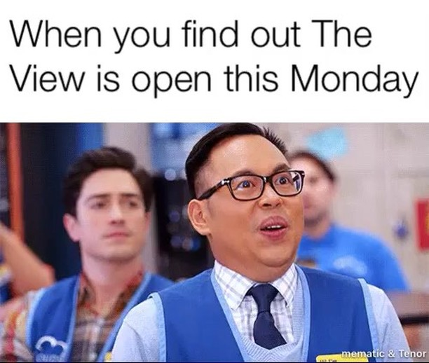 #theviewpizza open #Monday  5pm #pizza