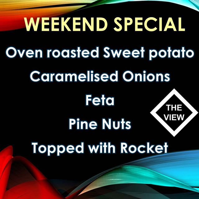 Thats right, Oven roasted Sweet potata ??, add triple smoked ham if you want #theviewpizza  #pizza?  #theviewpizzaspecial  #pizza  #food #foodie #yummy #nom #hungry #wine #pizza #vegetarian #delish #thisisthelife #killcarebeach #killcare #sydney #centralcoast #centralcoastnsw #newsouthwales