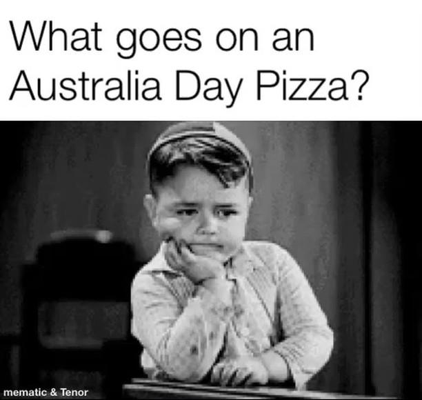 Apart from bacon and egg what goes on an Aussie pizza?  Lemon myrtle? #Wattle, #emu #kangaroo #crocodile #ozday #aussiesofinstagram #aussie #australia #pizza