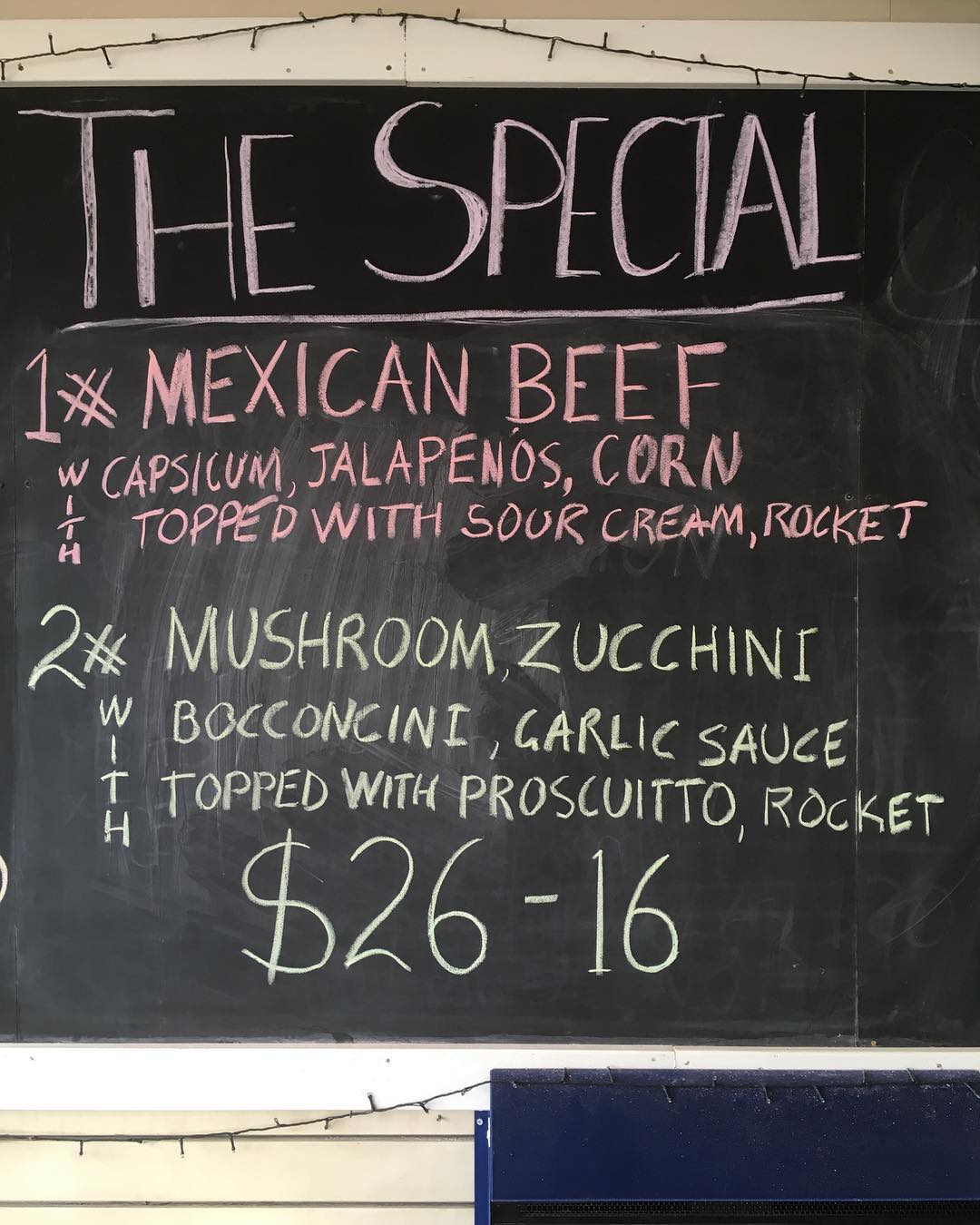 Two specials tonight. Yum! #theviewpizzaspecial  Don't forget to order early due to the girls night out. #hardysbay #killcare #proscuitto #zucchini